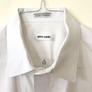 PIERRE CARDIN 17x 34 Long Sleeve White XL